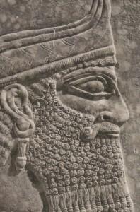 Un impactante relieve asirio deslumbra en Christie's