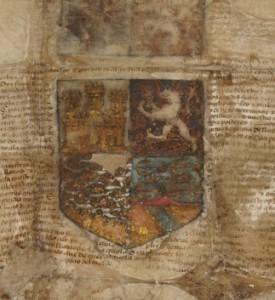 Histórico manuscrito de los Reyes Católicos en Ansorena