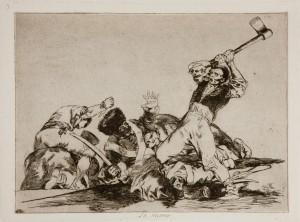 El no a la guerra de Goya
