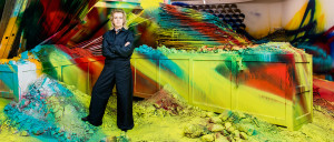 Katharina Grosse, la pintora sin límites