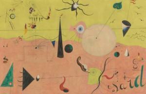 Miró, telúrico y mundano