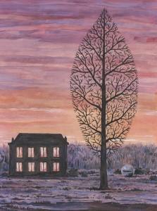 La arboleda perdida de Magritte