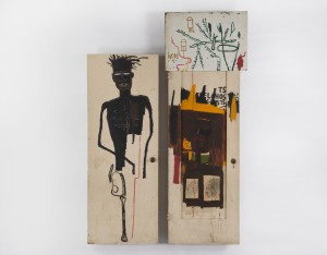 Cuando Basquiat pintaba en las puertas