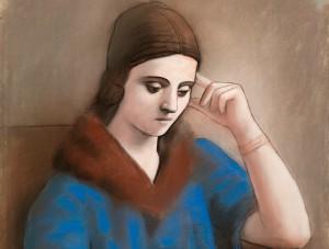 Olga, la musa clásica de Picasso
