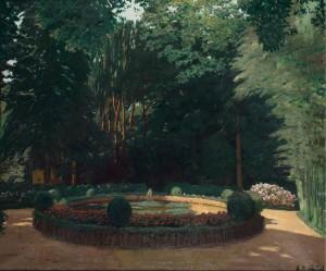 El jardín de Rusiñol