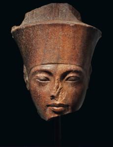 El rostro del faraón niño