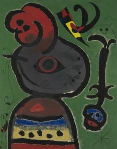 El vuelo de Miró