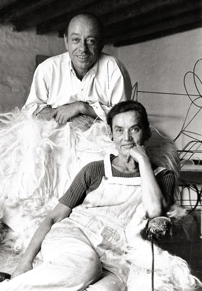 Retrato-de-Claude-and-François-Xavier-Lalanne