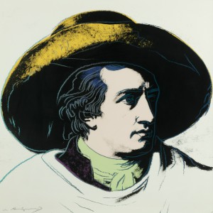 Un Goethe warholiano