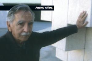Andreu Alfaro, poeta de acero y hierro