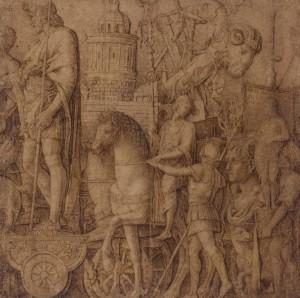 Así dibujaba Mantegna