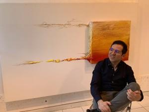 Alberto Reguera: «El arte del mañana será más espiritual»
