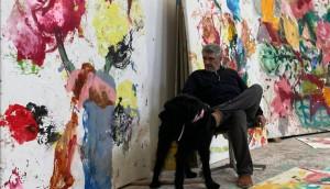 Jorge Galindo: «Sólo consigo desconectar pintando»