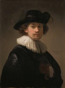 El joven Rembrandt