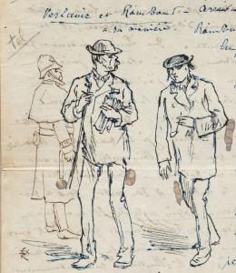 De paseo con Verlaine y Rimbaud