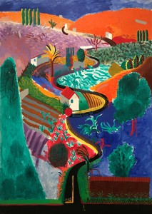 El paisaje favorito de Hockney