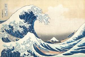 Hokusai y la espuma del tiempo