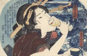 La geisha borracha
