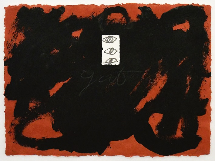 Antoni Tàpies, Gat (1988)