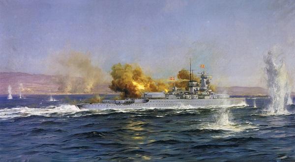 El bombardeo de Almeria