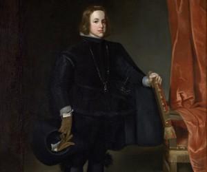 Una cabeza del Príncipe Baltasar Carlos pintada por Martínez del Mazo