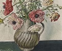 El bouquet de Foujita