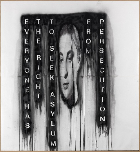 Face XIV, Jaume Plensa. Galeria Senda