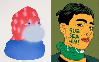 3 Punts, Grip Face ; ADN Galería, Maria Acha –Kutscher, Indignadas