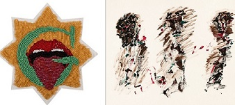 Imaginart, María Eugenia Trujillo, Las pecadoras o el rincón de las impuras; Galeria Marc Domènech, Henri Michaux, Sin título