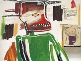 Basquiat se mira en Leonardo